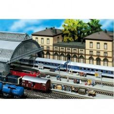 Modélisme ferroviaire HO : Rallonge de quai de gare