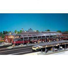 Modélisme ferroviaire HO : Hall de gare - Epoque 1880