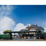 Modélisme ferroviaire HO : Quai de gare couvert