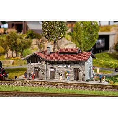 Modélisme ferroviaire HO : Gare d'arrêt de Altoberndorf - Faller-110088