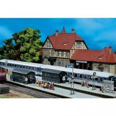 Modélisme ferroviaire HO : Rallonge de quai