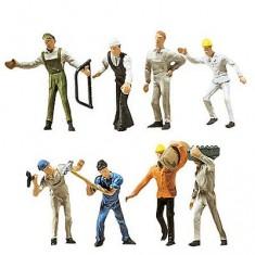 Modélisme HO : Figurines : Set ouvriers du bâtiment