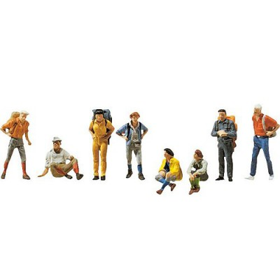 Modélisme HO : Figurines : Randonneurs - Faller-151055