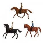 Modélisme HO : Figurines : Set cavaliers