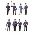 Modélisme HO : Figurines : Set cheminots 1