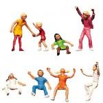 Modélisme HO : Figurines : Set enfants s'amusant 2