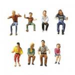 Modélisme HO : Figurines : Set fête foraine 3