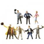 Modélisme HO : Figurines : Set joyeux buveurs