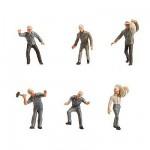 Modélisme HO : Figurines : Set mineurs de fond