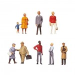 Modélisme HO : Figurines : Set passants 1