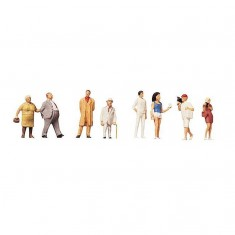 Modélisme HO : Figurines : Set passants 2