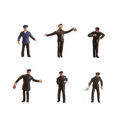 Modélisme HO : Figurines : Set personnel de locomotive à vapeur - Faller-151075