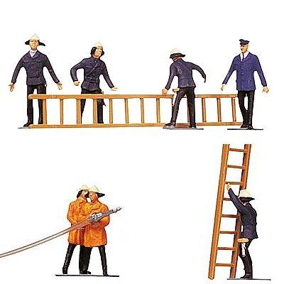 Modélisme HO : Figurines : Set pompiers et accessoires - Faller-151006
