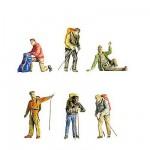 Modélisme HO : Figurines : Set trekkers