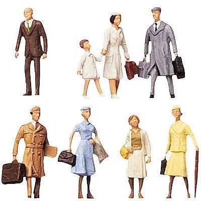 Modélisme HO : Figurines : Set voyageurs 1 - Faller-150501