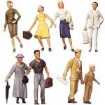 Modélisme HO : Figurines : Set voyageurs 3