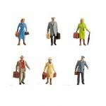 Modélisme HO : Figurines : Set voyageurs