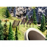 Modélisme HO : Accessoires de décor : Construction contre les avalanches
