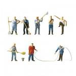 Modélisme HO : Figurines : Set Fermiers