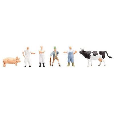 Modélisme HO Figurines : Dans l'abattoir - Faller-151098