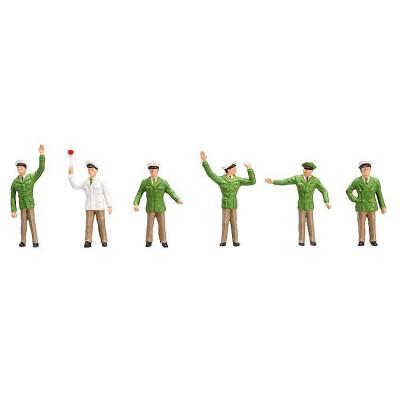 Modélisme HO Figurines : Différents policiers - Faller-151097