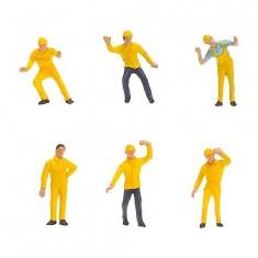 Modélisme HO : Figurines : Ouvriers
