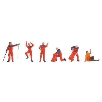 Modélisme HO : Figurines : Secours alpin - Faller-151084