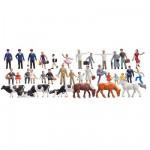 Modélisme HO Figurines : Set découverte 36 pièces