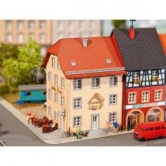 Modélisme N : Café de vieille ville