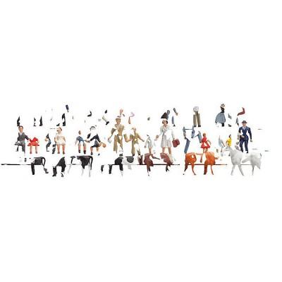 Modélisme N : Set découverte de figurines : 36 pièces - Faller-155253