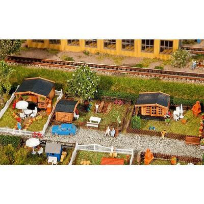 Modelisme N : Set jardin ouvrier 1 - Faller-272550