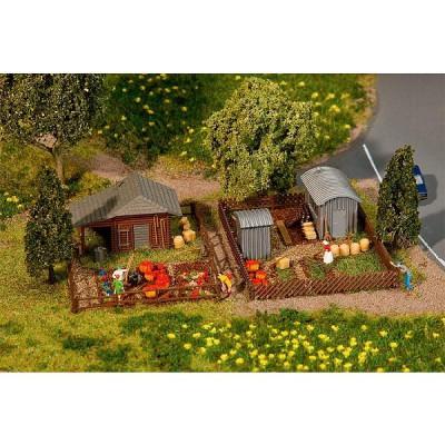 Modelisme n set jardin ouvrier 3 jeux et jouets faller for Jardin ouvrier