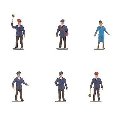 Modélisme N: Figurines : Cheminots Epoque V - Faller-155331