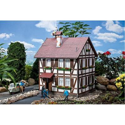 Modélisme Pola G-Programm : Maison à Colombages avec Nid de Cigogne - Faller-331712