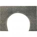 Modélisme HO : Dalle décorative : Entrée de tunnel à 2 voies