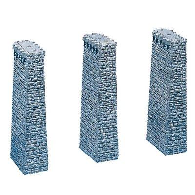 Modélisme HO : 3 piliers de viaduc - Faller-120479