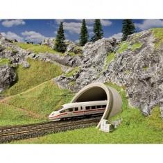 Modélisme HO : Entrée de tunnel pour route/ ICE