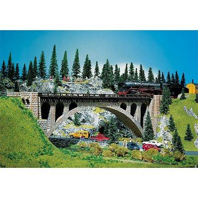 Modélisme HO : Pont à arches en pierres - Faller-120533