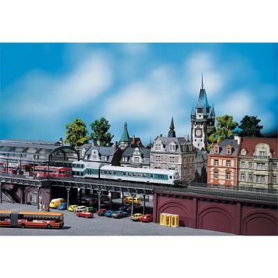 Modélisme HO : Pont en acier - Faller-120487