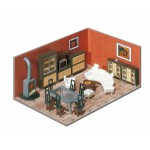 Modélisme HO : Aménagement intérieur d'immeuble