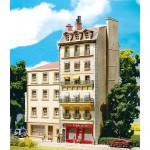 Modélisme HO : Immeuble de ville style français