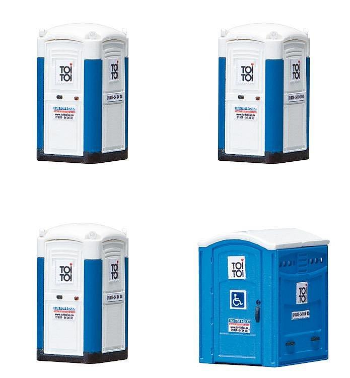 Modélisme HO : Toilettes transportables - Faller-180543