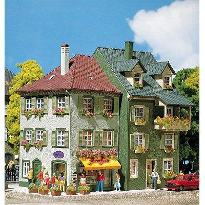 mod lisme ho 2 immeubles d 39 habitation jeux et jouets faller avenue des jeux. Black Bedroom Furniture Sets. Home Design Ideas
