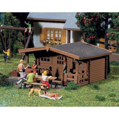 Modélisme HO : Maisons: 3 pavillons de jardin - Faller-130208