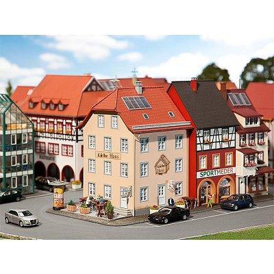 Modélisme HO : Café de cité ancienne - Faller-130493