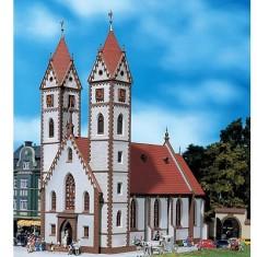 Modélisme HO : Église de ville