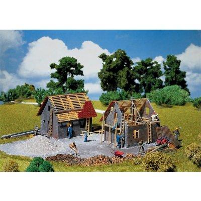 Modélisme HO : Maison en construction - Faller-130246