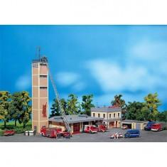Modélisme HO : Poste de pompiers