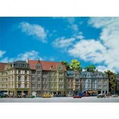 Modélisme HO : Rangée d'immeubles urbains Rue Goethe