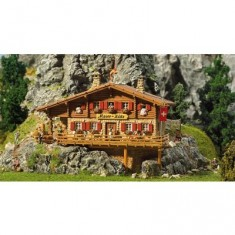 Modélisme HO : Refuge de haute montagne Chalet Moser